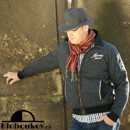 Pánský vlněný klobouk pro podzimní a zimní období