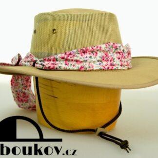 Australský Barmah hat s mašlí pro dámy